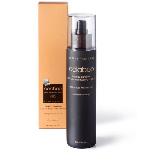 Oolaboo Bouncy Bamboo 100% Non-Toxic Healthy Hair Spray 250ml