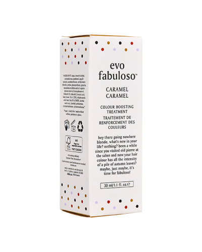 Evo Fabuloso Colour Intensifying Conditioner Caramel 30ml