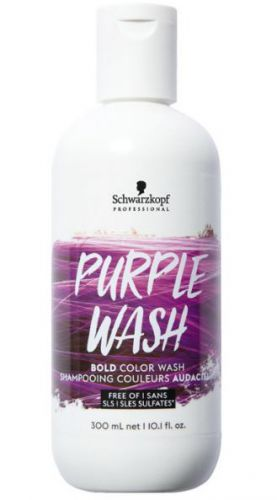 Schwarzkopf Bold Color Wash 300ml Purple Wash