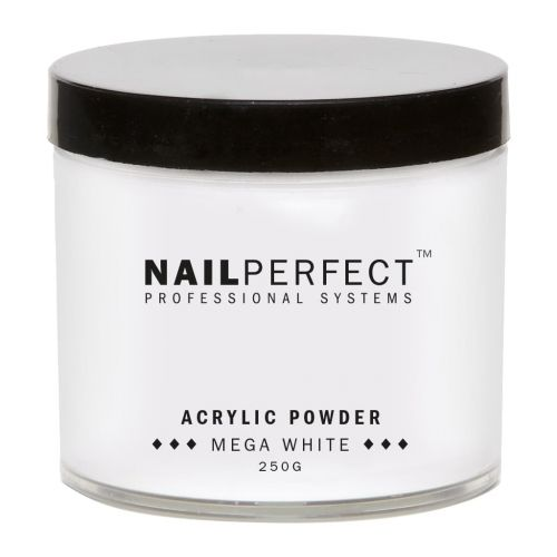 NailPerfect Powder Mega White 250gr
