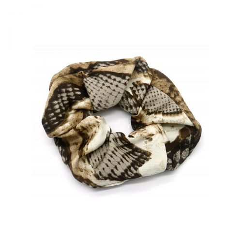 Salonline Scrunchie Animal Print Snake Brown