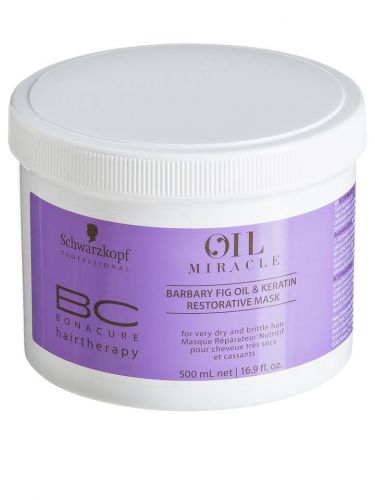 Schwarzkopf BC Oil Miracle Barbary Fig Oil & Keratin Restorative Mask 500ml