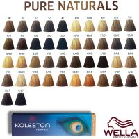 Wella Koleston Perfect - Pure Naturals 60ml 8/07