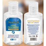 Numbudh Instant Hand Sanitizer - Handgel 75% alcohol 50ml