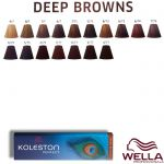 Wella Koleston Perfect - Deep Browns 60ml 6/71