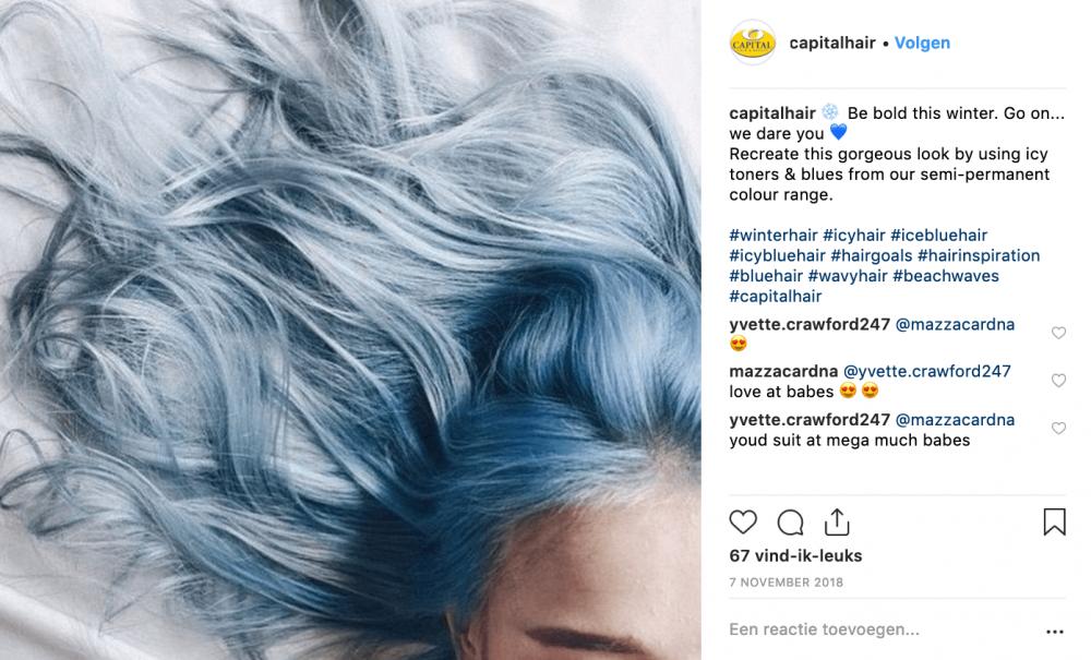 Verwonderend Ice Ice Baby ❄️ blauw is de kleur van 2019 YU-57