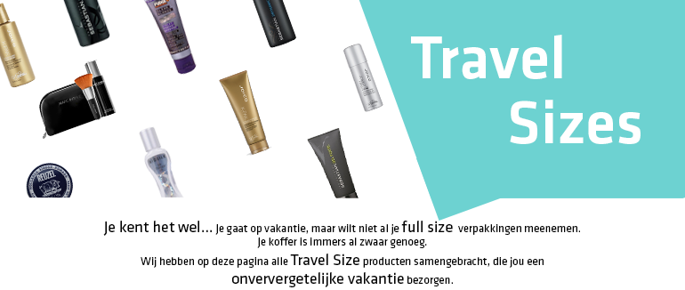 Travel Sizes banner