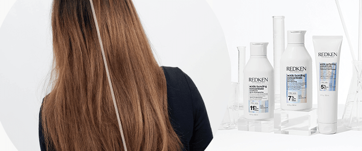 Redken Acidic Bonding Concentrate: Herstellen van chemisch behandeld haar